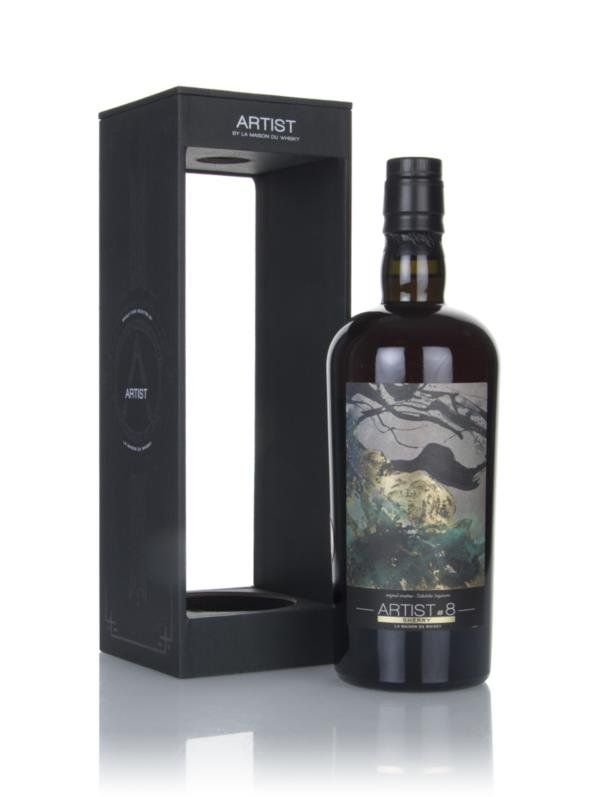 Glenlivet 10 Year Old 2007 (cask 900214) - Artist #8 (La Maison du Whi Single Malt Whisky