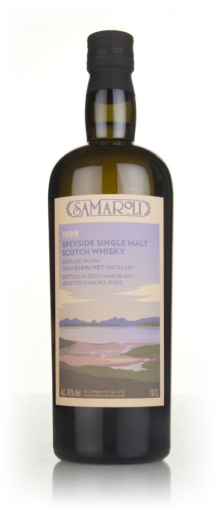 Glenlivet 1999 (bottled 2017) (cask 77205) - Samaroli Single Malt Whisky