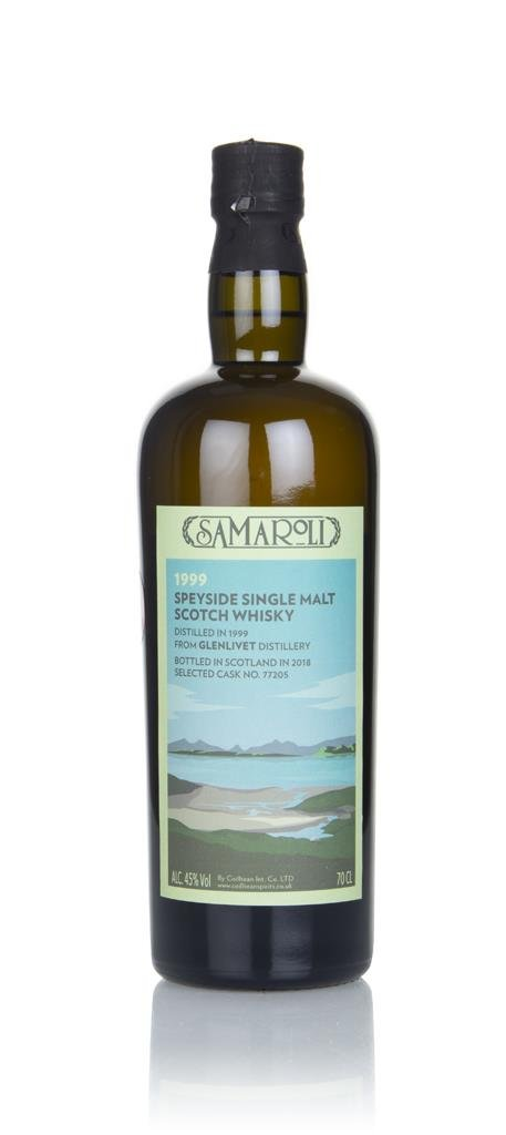 Glenlivet 1999 (bottled 2018) (cask 77205) - Samaroli Single Malt Whisky