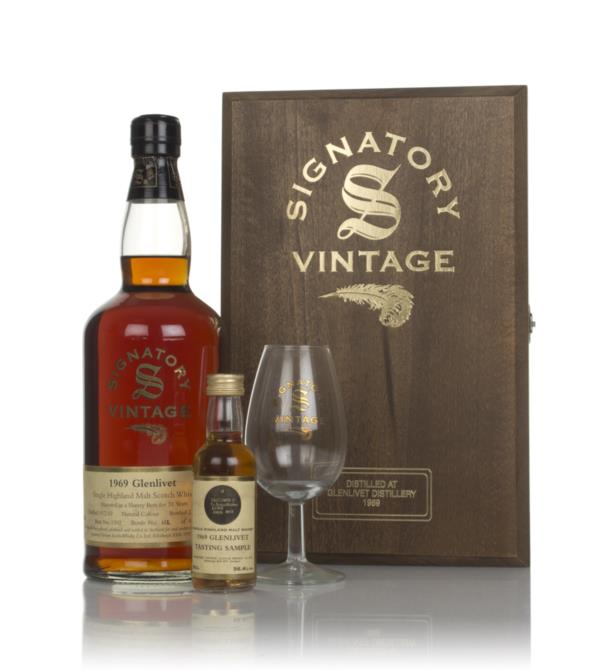 Glenlivet 31 Year Old 1969 (cask 1392) - Signatory Single Malt Whisky