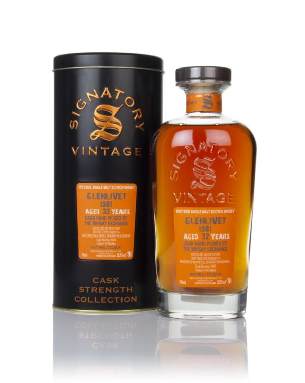 Glenlivet 32 Year Old 1981 (cask 9460) - Cask Strength Collection (Sig Single Malt Whisky
