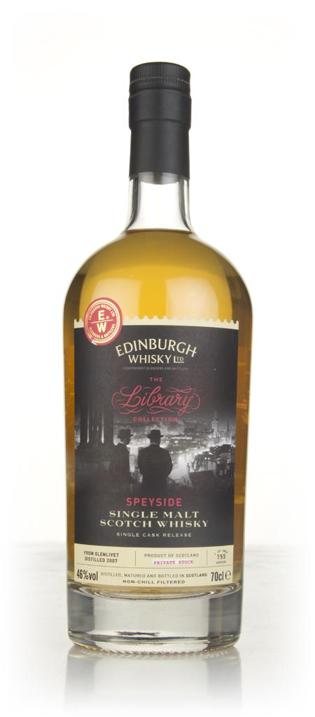 Glenlivet 8 Year Old 2007 - The Library Collection (Edinburgh Whisky L Single Malt Whisky