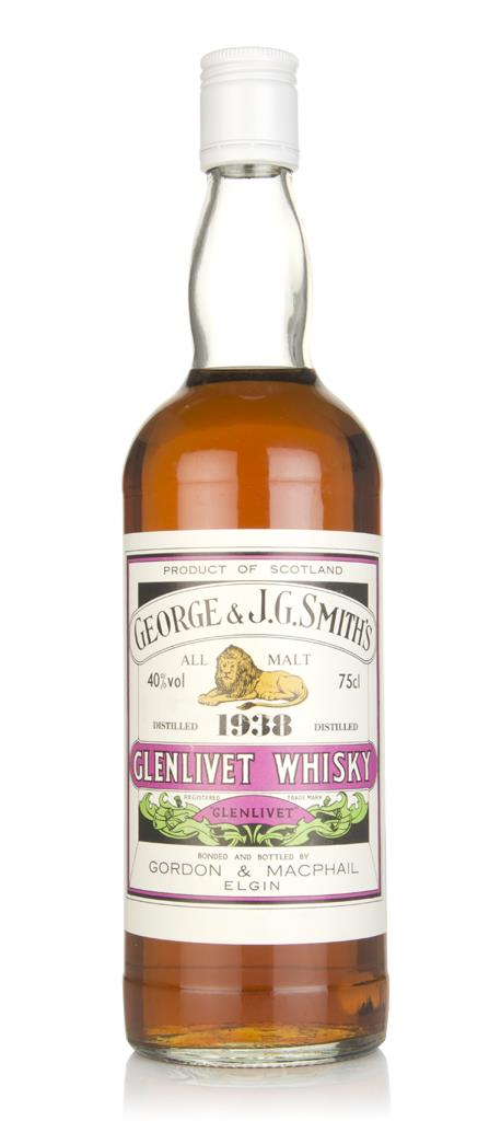 Smiths Glenlivet 1938 - Gordon & MacPhail Single Malt Whisky
