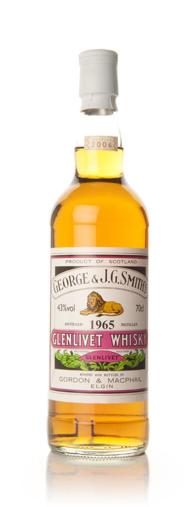Smiths Glenlivet 1965 (Gordon & Macphail) Single Malt Whisky