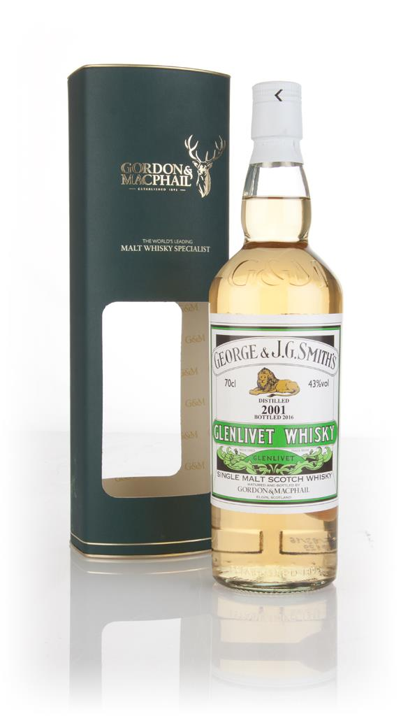 Smiths Glenlivet 2001 (bottled 2016) - Gordon & MacPhail Single Malt Whisky