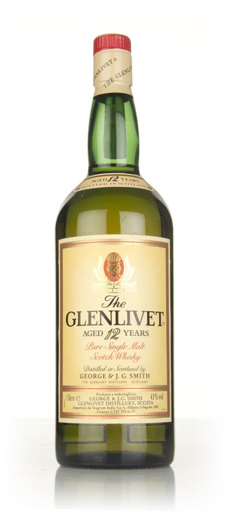 The Glenlivet 12 Year Old (1L) - 1980s Single Malt Whisky