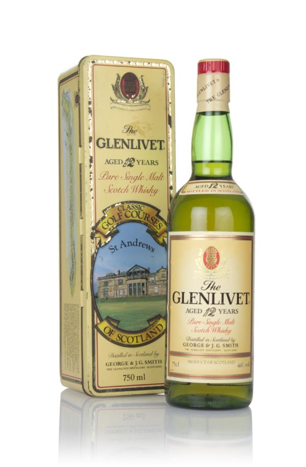 The Glenlivet 12 Year Old - Classic Golf Courses of Scotland (St Andre Single Malt Whisky