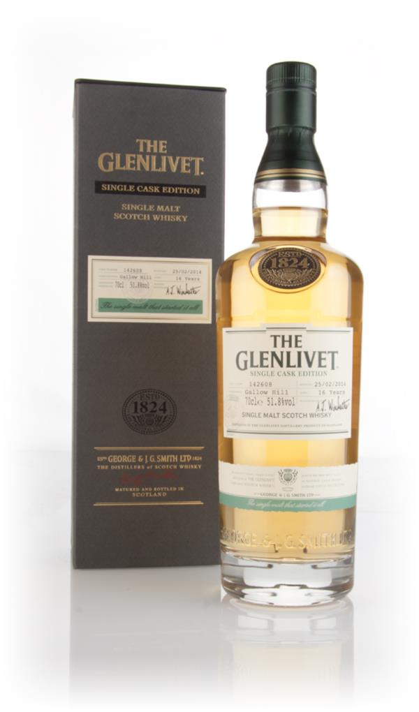 The Glenlivet 16 Year Old Gallow - Single Cask Edition Single Malt Whisky