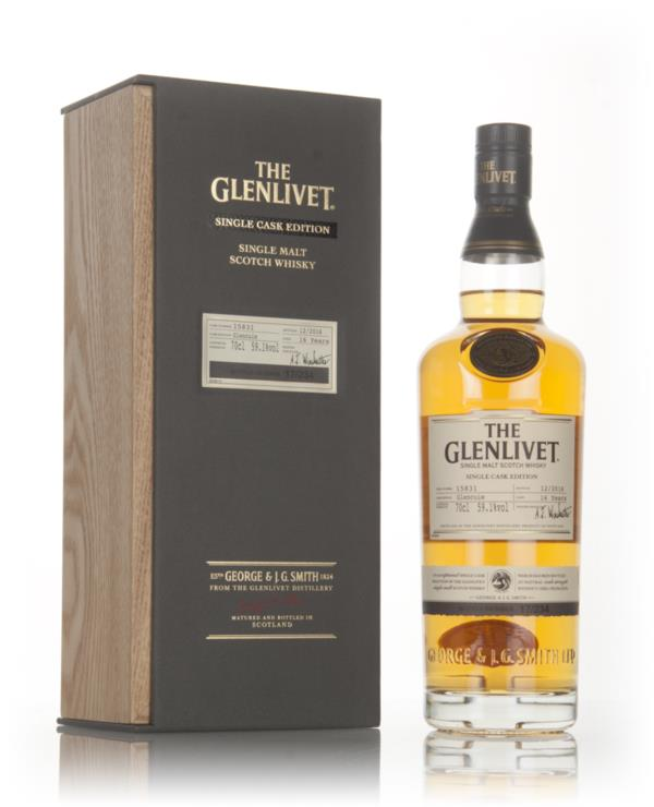 The Glenlivet 16 Year Old Glencuie - Single Cask Edition Single Malt Whisky