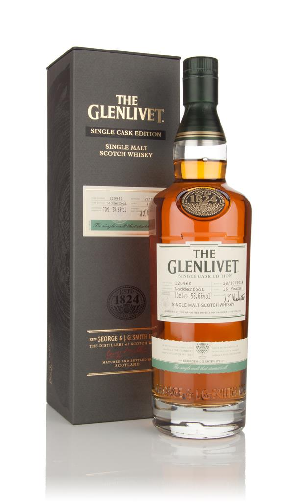 The Glenlivet 16 Year Old Ladderfoot - Single Cask Edition Single Malt Whisky