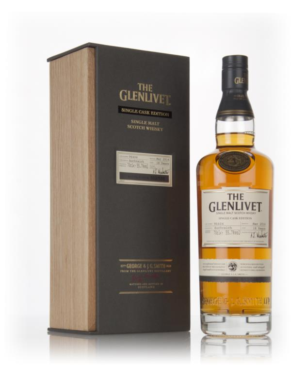 The Glenlivet 18 Year Old Auchvaich - Single Cask Edition Single Malt Whisky