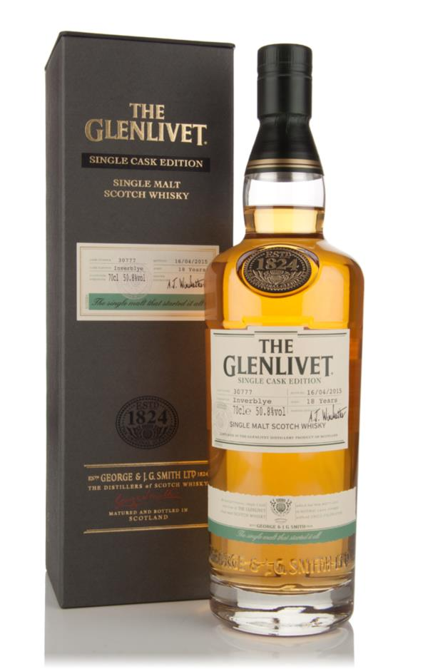 The Glenlivet 18 Year Old Inverblye - Single Cask Edition Single Malt Whisky