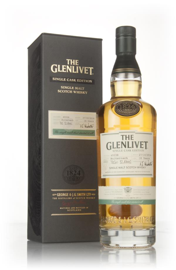 The Glenlivet 18 Years Old Buiternach - Single Cask Edition Single Malt Whisky