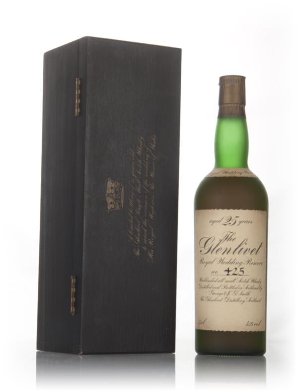 The Glenlivet 25 Year Old Royal Wedding Reserve Single Malt Whisky