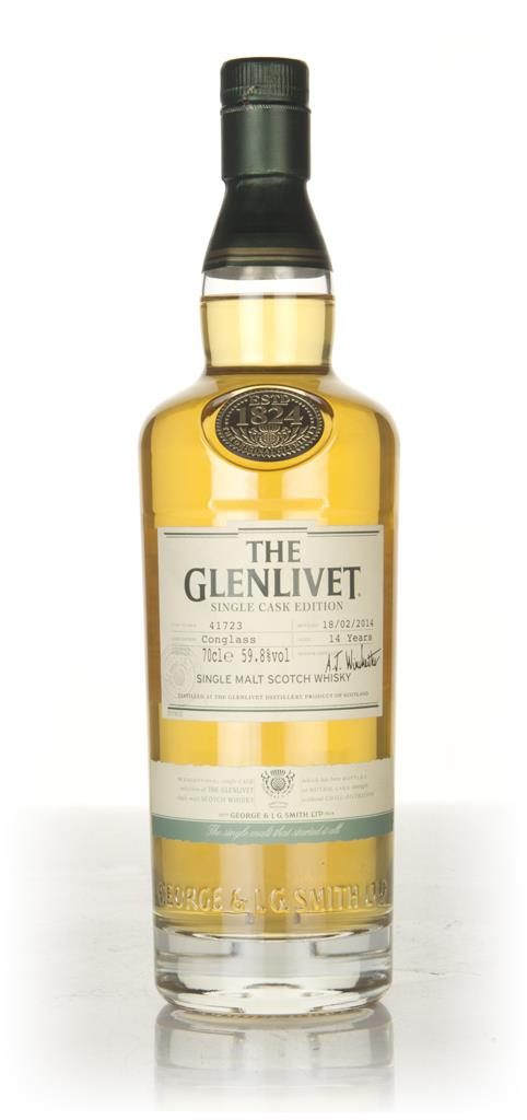 The Glenlivet 14 Year Old Conglass - Single Cask Edition Single Malt Whisky