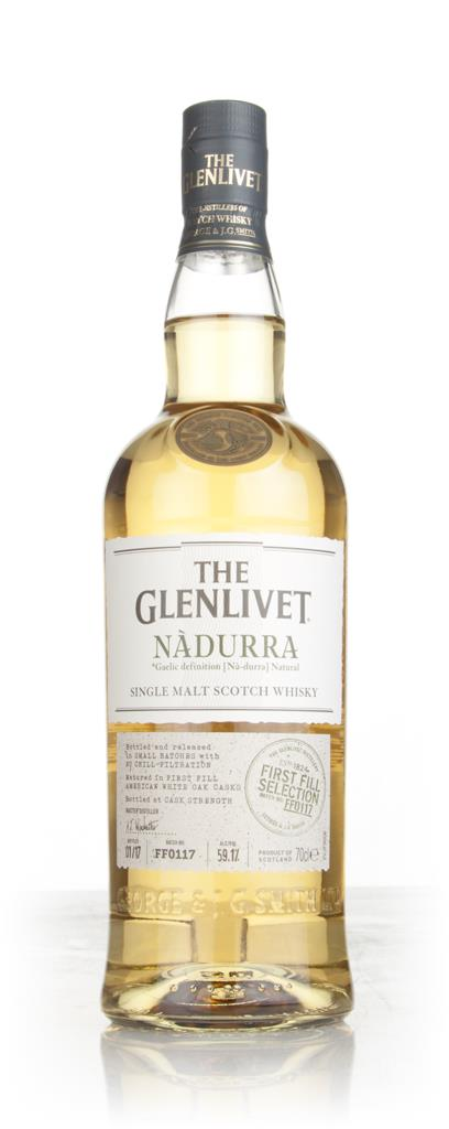 The Glenlivet Nadurra First Fill Selection Batch FF0117 Single Malt Whisky