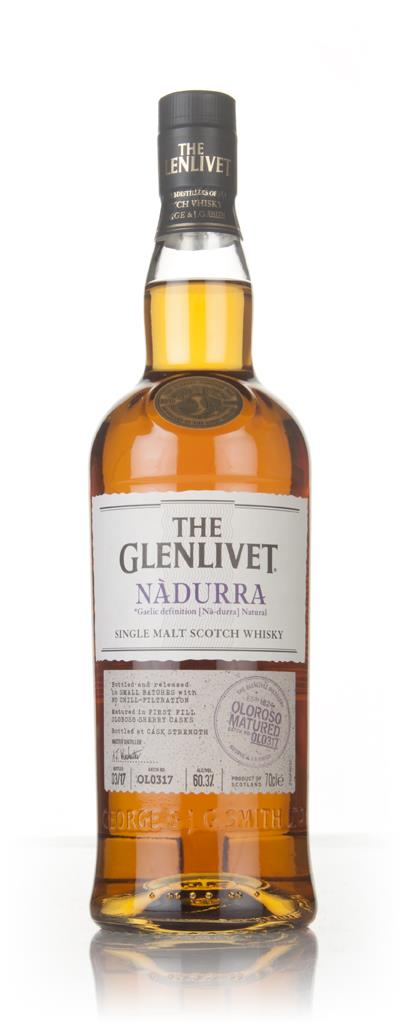 The Glenlivet Nadurra Oloroso Batch OL0317 Single Malt Whisky
