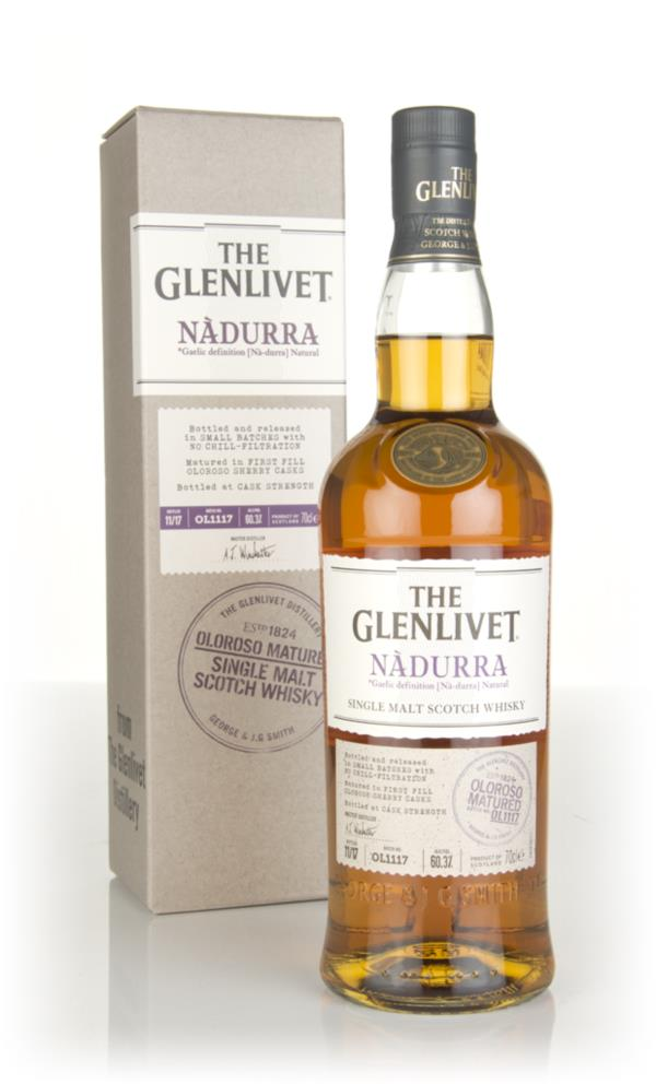 The Glenlivet Nadurra Oloroso Batch OL1117 Single Malt Whisky