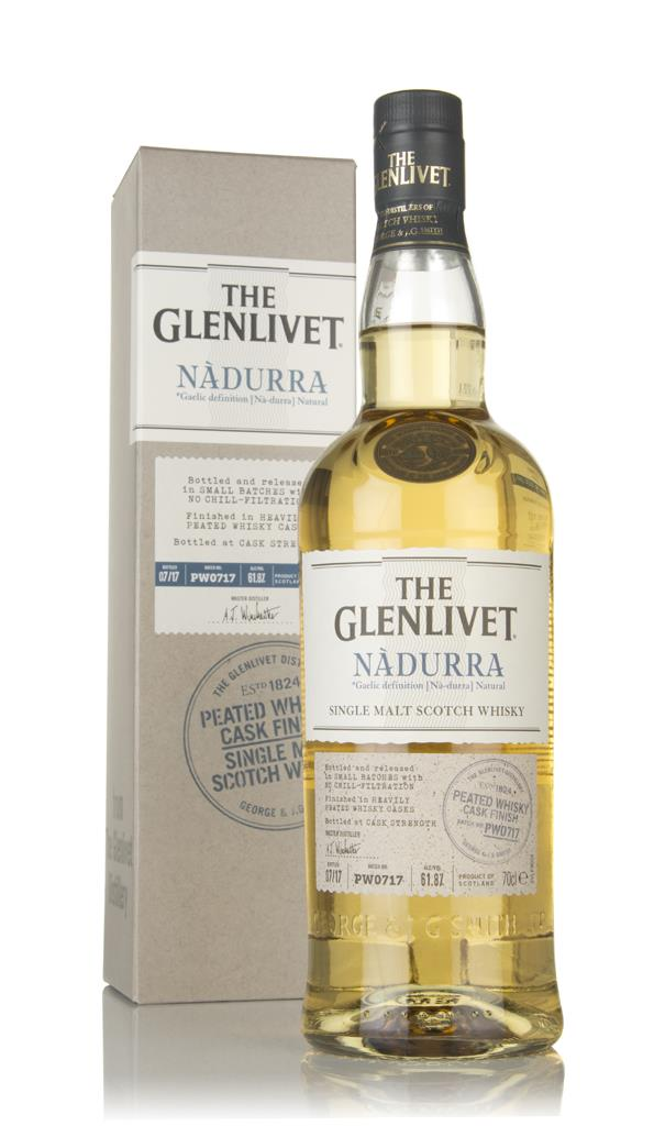 The Glenlivet Nadurra Peated Whisky Cask Finish Batch PW0717 Single Malt Whisky