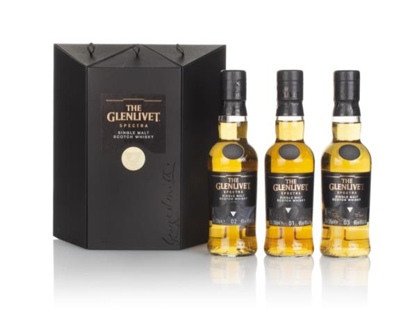 The Glenlivet Spectra (3 x 20cl) Single Malt Whisky