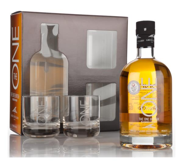The ONE Gift Pack with 2x Glasses Blended Whisky