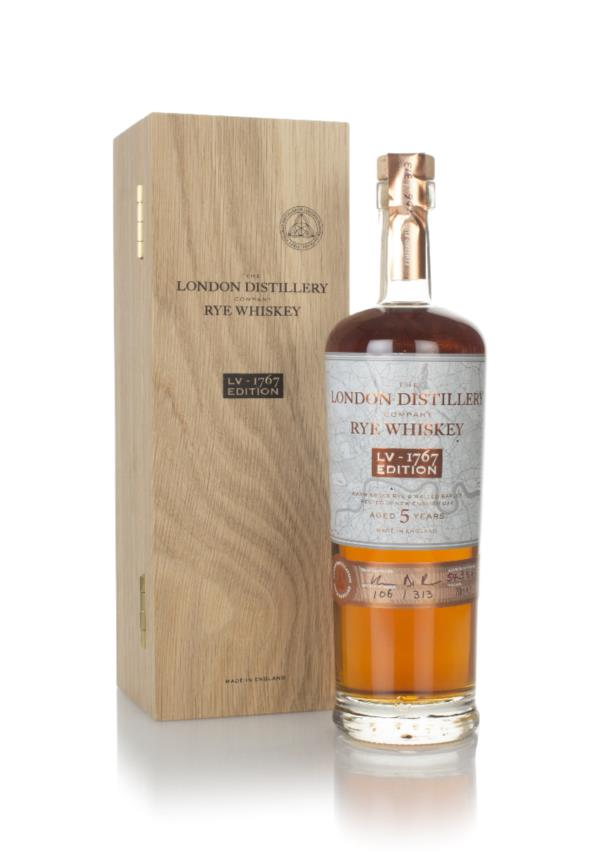 The London Distillery Company Rye Whiskey LV-1767 Edition (2020 Releas Rye Whisky