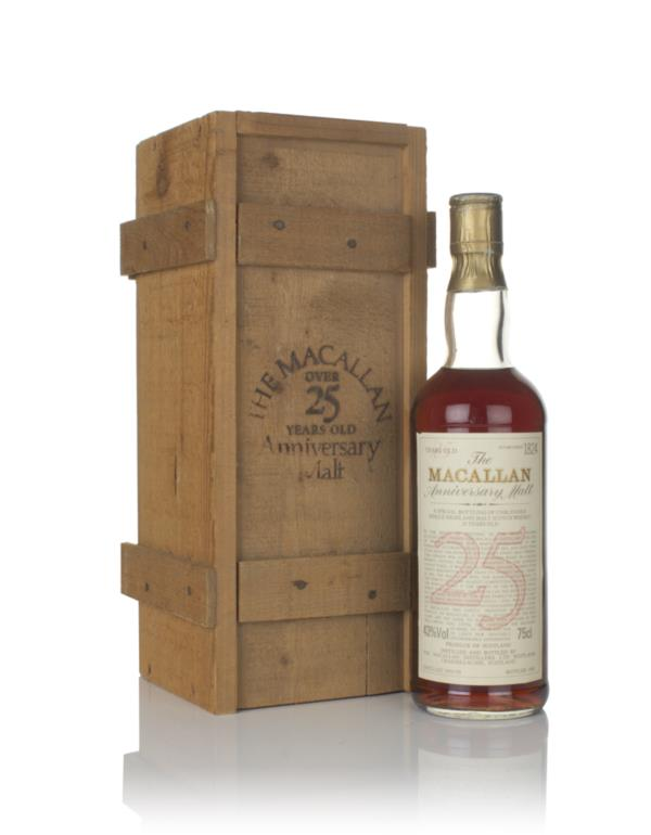 The Macallan 25 Year Old - Anniversary Malt Single Malt Whisky