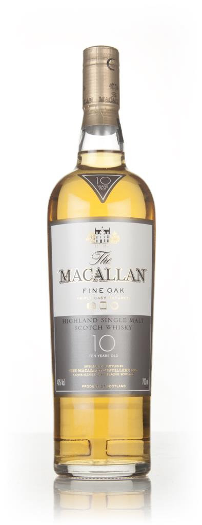 The Macallan 10 Year Old Fine Oak Single Malt Whisky