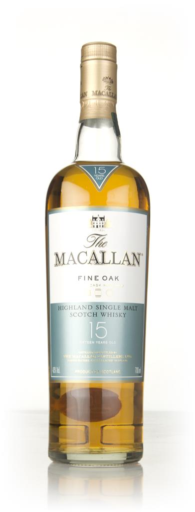 The Macallan 15 Year Old Fine Oak 3cl Sample Single Malt Whisky