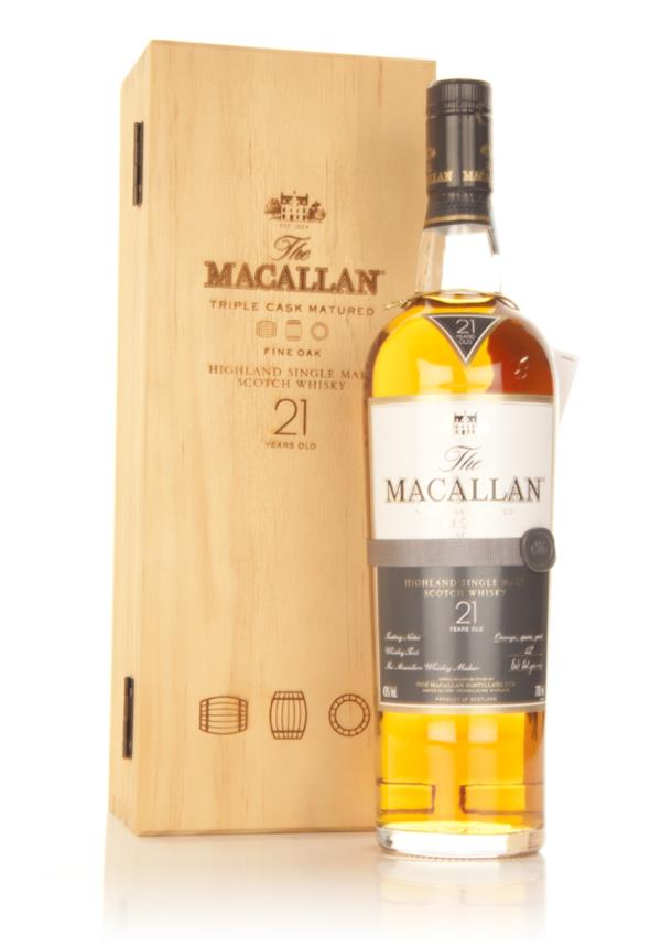 The Macallan 21 Year Old Fine Oak 3cl Sample Single Malt Whisky