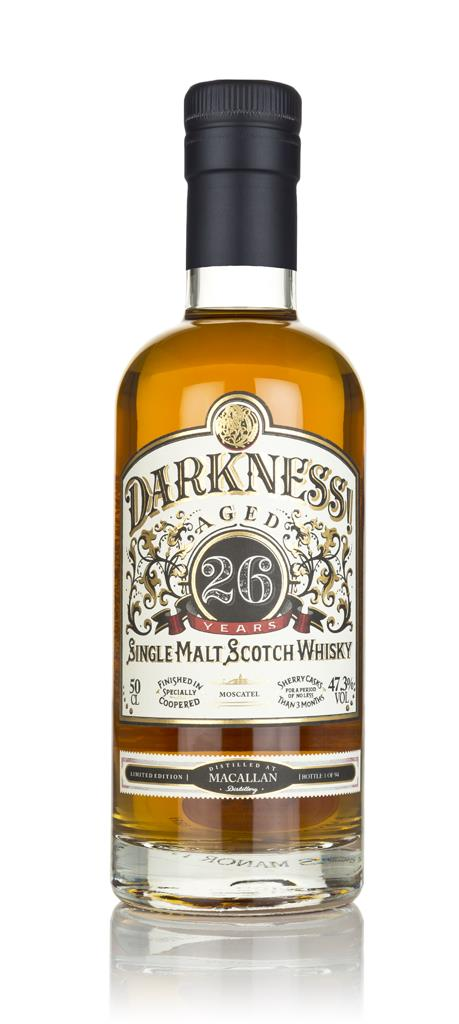 Darkness! Macallan 26 Year Old Moscatel Cask Finish 3cl Sample Single Malt Whisky