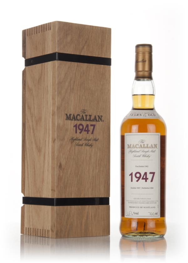The Macallan 15 Year Old 1947 (bottled 1962) - Fine & Rare Single Malt Whisky