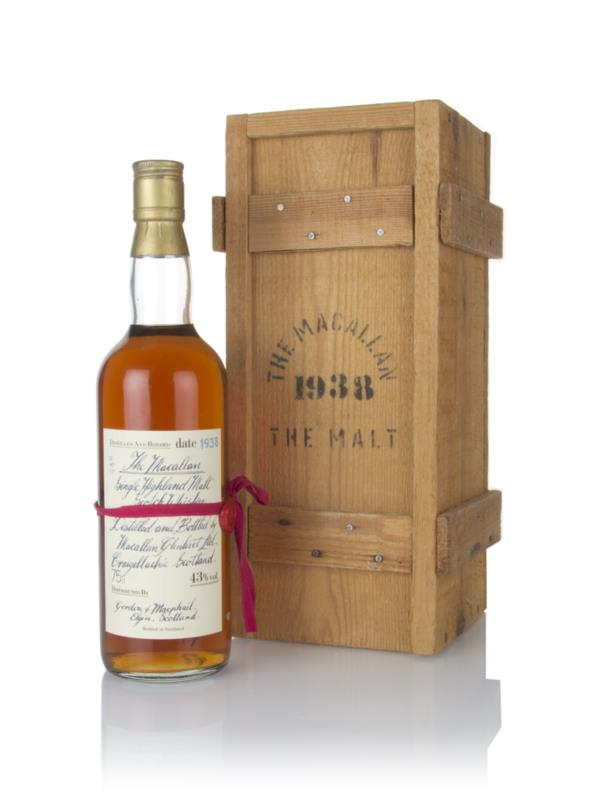 Macallan 1938 (bottled 1980s) - Gordon & MacPhail Single Malt Whisky
