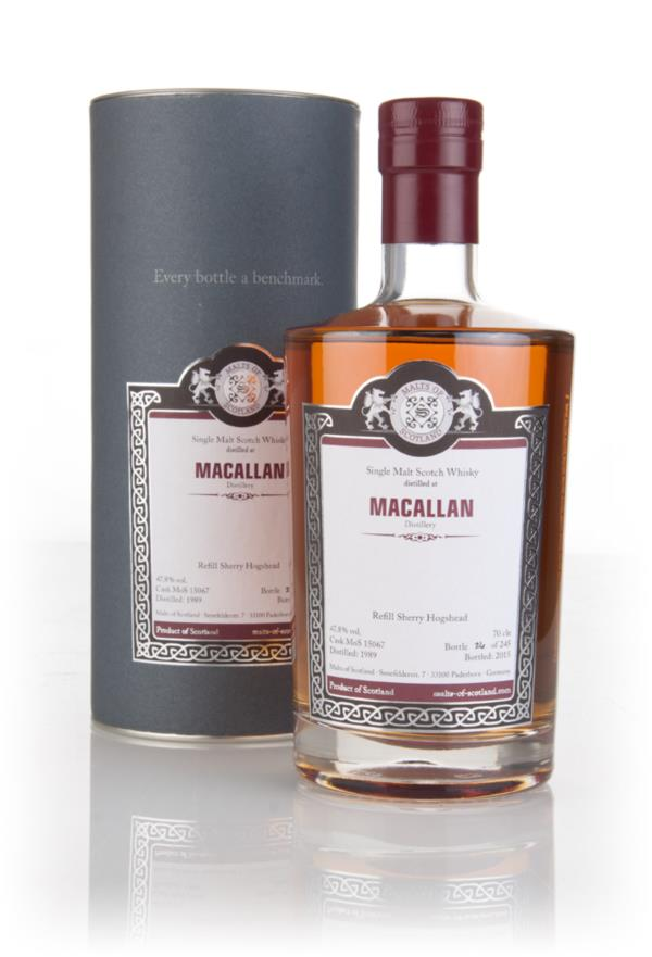 Macallan 1989 (bottled 2015) (cask 15067) - Malts of Scotland 3cl Samp Single Malt Whisky 3cl Sample