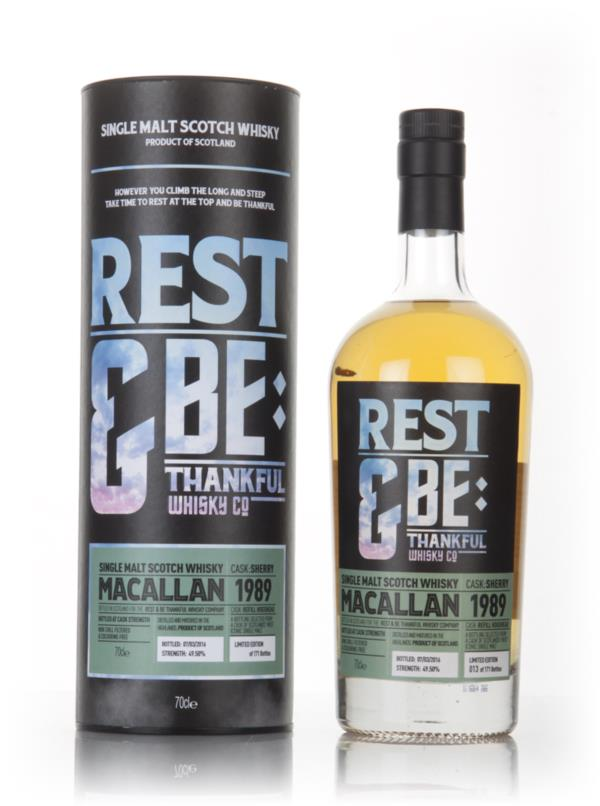 Macallan 1989 (bottled 2016) (Rest & Be Thankful) 3cl Sample Single Malt Whisky