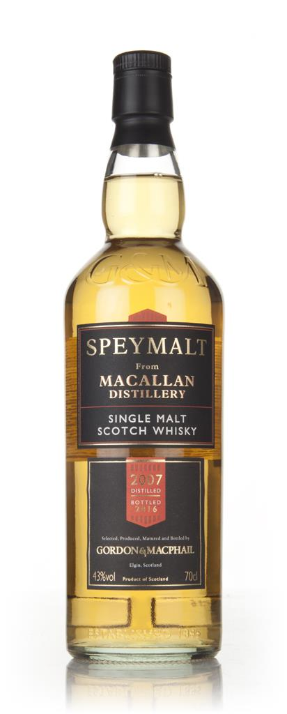 Macallan 2007 (bottled 2016) - Speymalt (Gordon & MacPhail) Single Malt Whisky