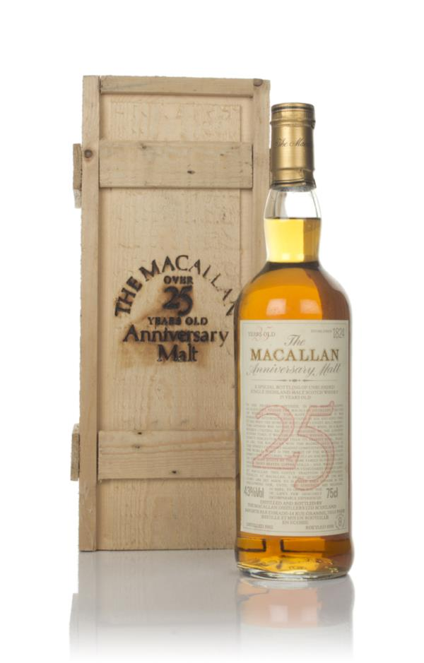 Macallan 25 Year Old 1962 - Anniversary Malt Single Malt Whisky