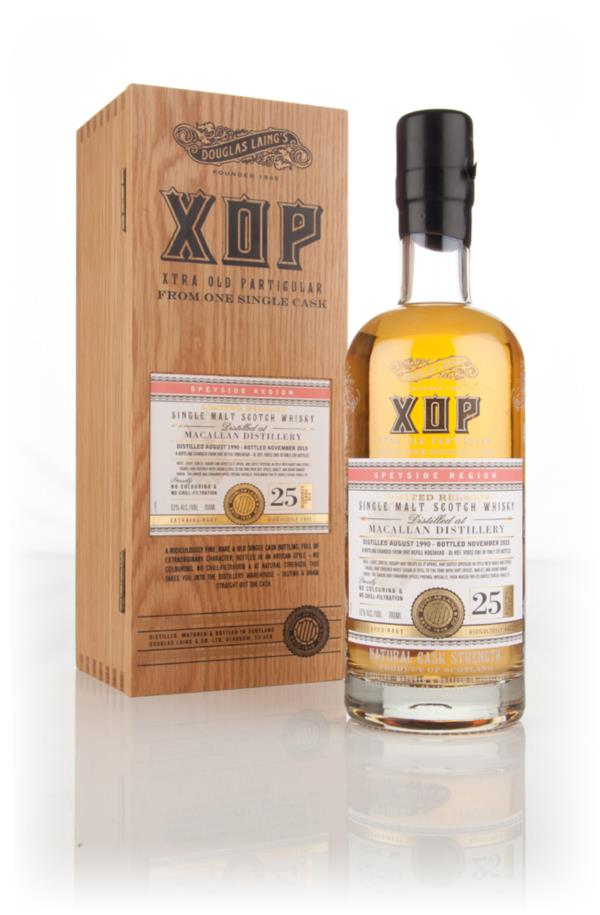 Macallan 25 Year Old 1990 (cask 10952) - Xtra Old Particular (Douglas Single Malt Whisky 3cl Sample