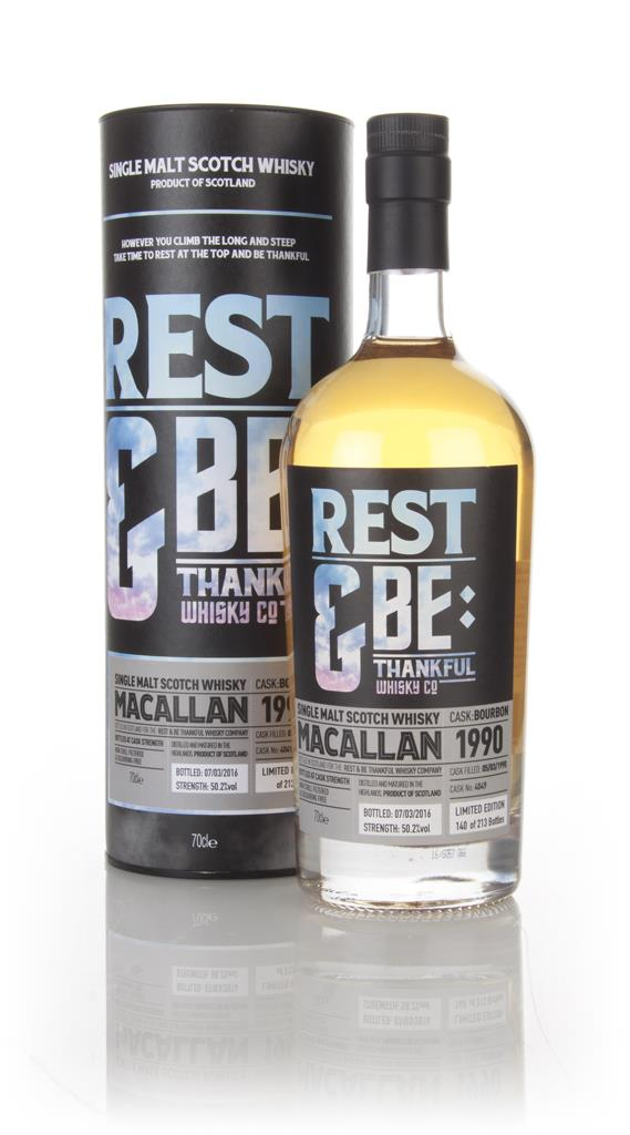 Macallan 26 Year Old 1990 (cask 4049) (Rest & Be Thankful) Single Malt Whisky