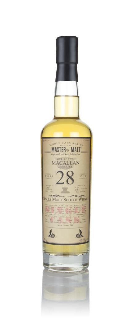 Macallan 28 Year Old 1989 - Single Cask (Master of Malt) Single Malt Whisky