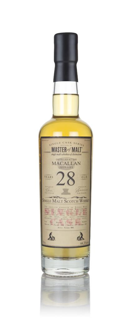 Macallan 28 Year Old 1990 - Single Cask (Master of Malt) Single Malt Whisky