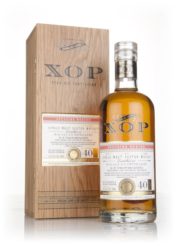 Macallan 40 Year Old 1977 (cask 11835) - Xtra Old Particular (Douglas Single Malt Whisky 3cl Sample