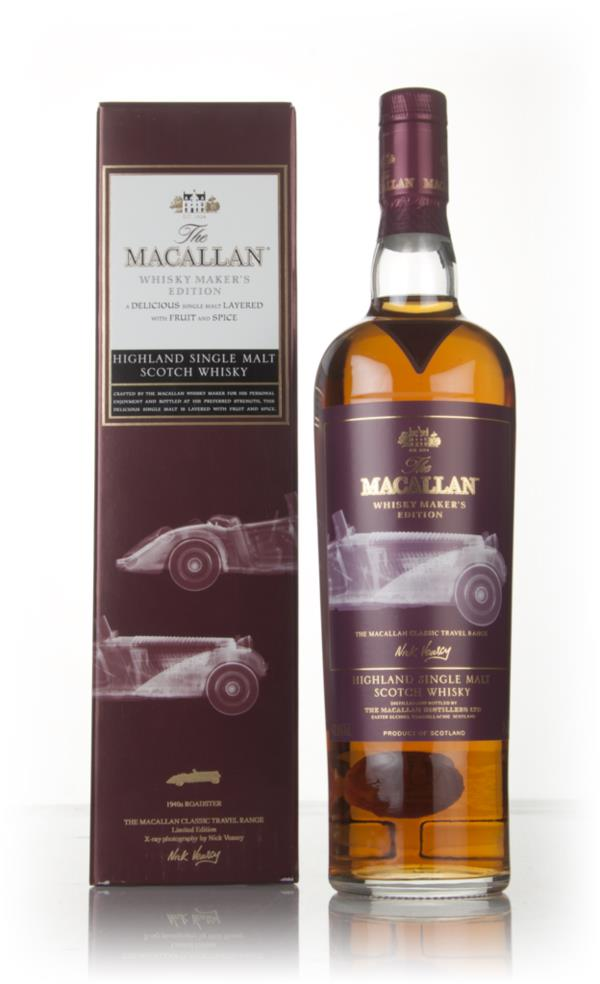 Macallan Whisky Makers Edition - Classic Travel Range (Car Label) Single Malt Whisky