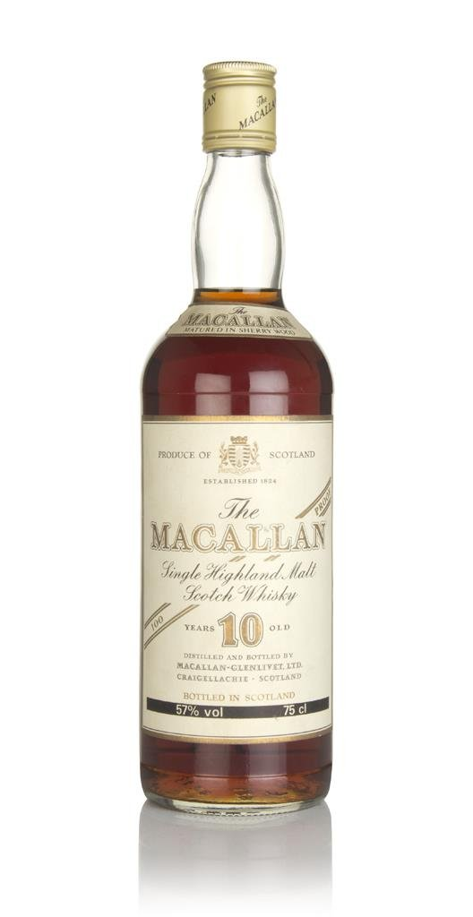 The Macallan 10 Year Old 100 Proof - 1980s Single Malt Whisky