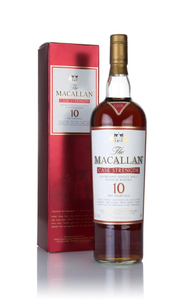 The Macallan 10 Year Old Cask Strength (1L) Single Malt Whisky