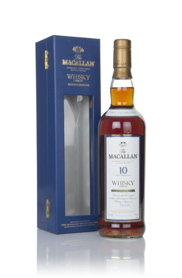 The Macallan 10 Year Old - Whisky Magazine 10th Anniversary Bottling Single Malt Whisky
