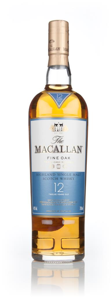 The Macallan 12 Year Old Fine Oak Single Malt Whisky