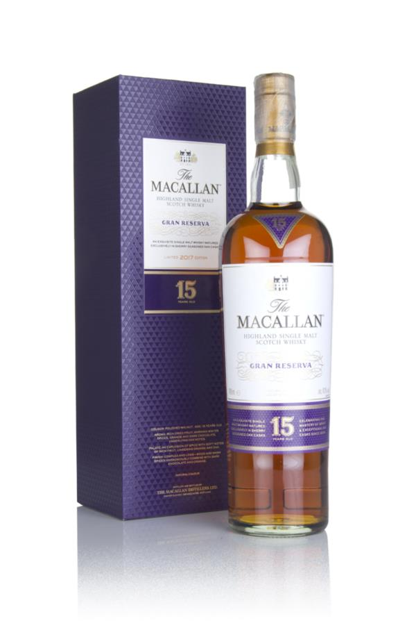The Macallan 15 Year Old Gran Reserva (2017 Release) Single Malt Whisky