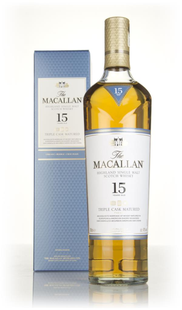 The Macallan 15 Year Old Triple Cask Single Malt Whisky
