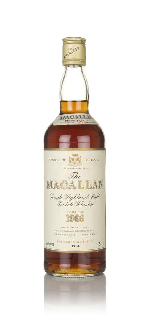 The Macallan 18 Year Old 1966  (No Box) Single Malt Whisky